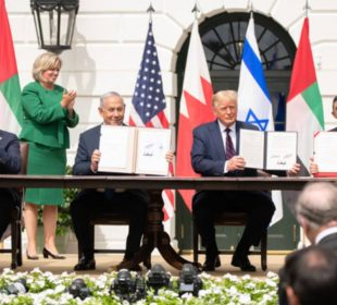 Donald Trump - 'The Peace President' stitches up latest peace deal between Sudan and Israel.