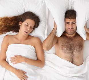 COULD SLEEPING WITH A SNORER TRIGGER A HEART ATTACK