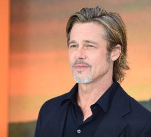 Brad Pitt pictured leaving medical centre