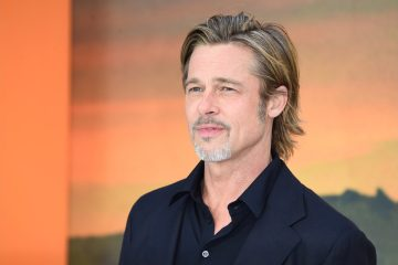 Brad Pitt pictured leaving medical centre