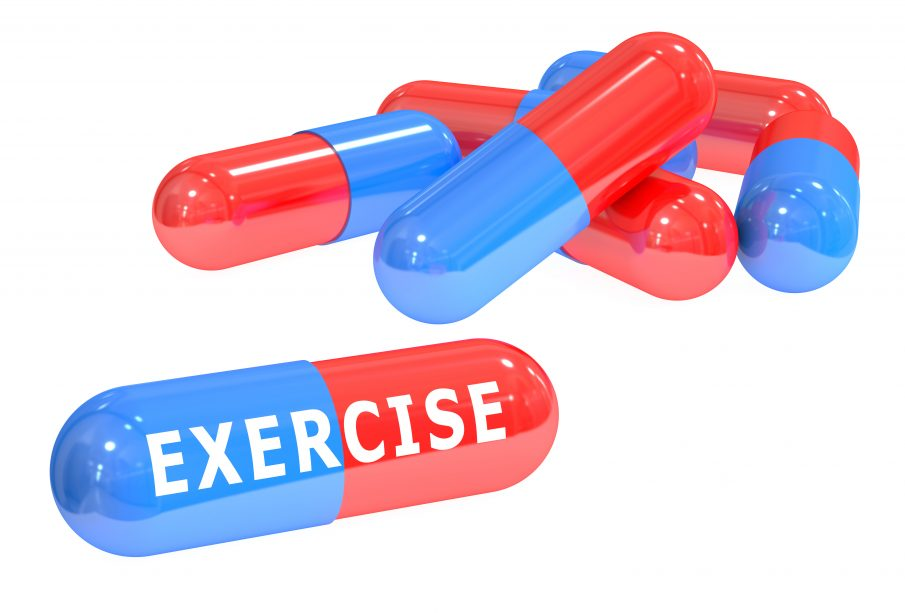 Exercise pill to lose weight and stay fit