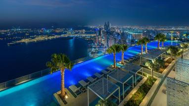 World's highest infinity pool has opened in Dubai
