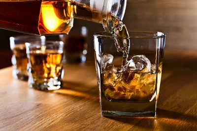 Actress uses whiskey to get through Covid lockdown